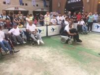 ENGELLİ SPORCU - Bocceyi Forum Mersin'de Öğrendiler