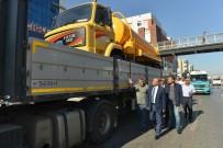 ÇIĞLI BELEDIYESI - Çiğli'den Ovacık Belediyesine Araç Hibesi
