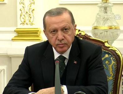 Cumhurbaşkanı Erdoğan'dan ABD ile vize krizine ilişkin ilk açıklama