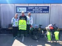 DIYABET - Diyabete Dikkat Çekmek İçin Pedal Çeviren Bisikletçi İzmit'te Mola Verdi