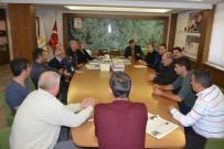 HAYVAN PAZARI - Gedizli Kasaplardan, Belediye Başkanı Saraoğlu'na Teşekkür Ziyareti