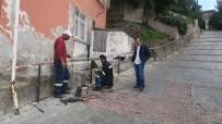 Gülüç Belediyesi Yol Kenarlarına Tutunma Barları Yapıyor