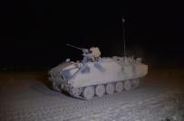 ZIRHLI ARAÇLAR - Habur'daki Tatbikatta Tanklardan Gece Manevrası