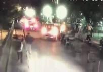OKMEYDANI EĞİTİM VE ARAŞTIRMA HASTANESİ - Hasta Karşılama Görevlisine Silahlı Saldırı Kamerada