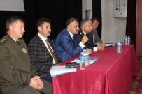 MUSTAFA AKSU - İlçe Protokolünden Öğrenci Taşımacılığı İle İlgili Toplantı