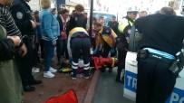 Kamyonetin Çarptığı Lise Öğrencisi Yaralandı