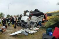 ÇOLAKLı - Manavgat'taki Tur Midibüsünde Kazaya Sebebiyet Veren Şoför Tutuklandı