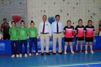 SAKIP SABANCI - Masa Tenisi Hakemleri Süper Lig Maçı Yönetti