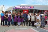 GAZI MUSTAFA KEMAL - Mezitli'de Kadın Üretici Pazarları Artıyor