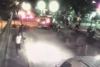OKMEYDANI EĞİTİM VE ARAŞTIRMA HASTANESİ - Okmeydanı'nda Hasta Karşılama Görevlisine Yapılan Silahlı Saldırı Kamerada
