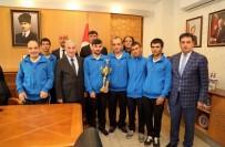 BURSA İNEGÖL - Vali Kamçı'dan Engelli Sporculara Ödül