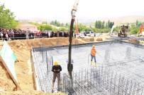 FEN EDEBİYAT FAKÜLTESİ - Yazıköy Mahallesine Yapılacak Caminin Temeli Atıldı