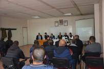 AŞKALE KAYMAKAMI - Aşkale'de Öğrenci Servislerine Yönelik Güvenlik Toplantısı