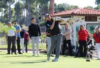 GOLF TURNUVASI - Bakan Çavuşoğlu Golf Turnuvasında Mücadele Ediyor