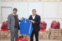 YÜCEL BARAKAZİ - Bingöl'de Spor Kulüplerine Malzeme Desteği