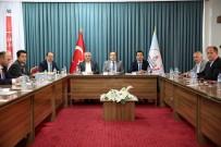 SELÇUK COŞKUN - Ekonomik Değerlendirme Toplantısı Vali Ali Hamza Pehlivan Başkanlığında Yapıldı