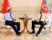 AZERBAYCAN CUMHURBAŞKANI - Erdoğan ile Aliyev'in fotoğrafı gündem oldu