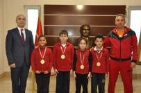 YÜZME YARIŞLARI - GKV'li Minik Yüzücüler, Cumhuriyet Kupasında 4 Madalya Kazandı