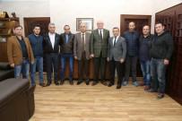 GÖKMEYDAN - Gökmeydan Spor Kulübü'nden Başkan Kurt'a Ziyaret