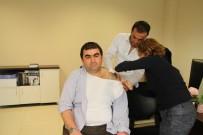 KRONİK HASTALIK - Grip Ve Soğuk Algınlığına Karşı Sağlık Personeline Aşı