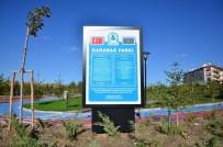 GENEL KÜLTÜR - Karabağ Parkına Anlamlı Tabela