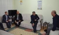 GAZİLER DERNEĞİ - Kaymakam Özkan'dan Hasta Ziyareti