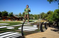 YÜRÜYÜŞ YOLU - Kepez Belediyesi'nden Yeni Kent Parkı