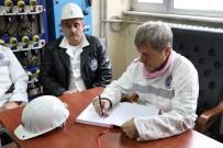 AHMET ÇıNAR - Madene İlk Kez İnen Vali Ahmet Çınar, 'TTK'nın Özelleştirmesiyle İlgili Bize Gelen Bildiri Yok'