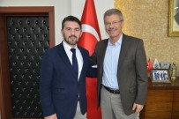 KAYSERİ ŞEKERSPOR - Milli Güreşçi Olan Spor Eğitim Daire Başkanından Kayseri Şeker'e Ziyaret