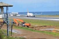 TRABZON VALİSİ - Trabzon Havalimanı Pisti 1 Aylık Bakıma Alındı