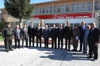 CEZAEVİ MÜDÜRÜ - Vali Çakacak,  Açık Ceza İnfaz Kurumu'nu Ve Kapalı Cezaevini Ziyaret Etti