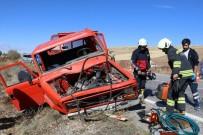 Yozgat'ta Beton Mikseri İle Kamyonet Çarpıştı Açıklaması 1 Ölü