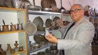 BAŞÖRTÜSÜ - 1800 Yıllık Eşyalar 'Kültür Kafe'de Sergileniyor