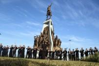 ANMA TÖRENİ - Atatürk Anıtı Önünde Senfonili Anma Töreni