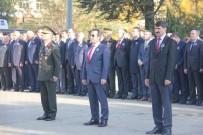 RESMİ TÖREN - Bingöl'de 10 Kasım Atatürk'ü Anma Günü