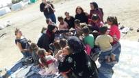 ÖRNEK PROJE - CHP Kadın Kolları Üyeleri Mevsimlik İşçi Çadırlarında