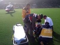 YARDIM TALEBİ - Dağda Kayalıklardan Düşen Çoban Yaralandı