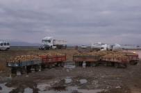PANCAR ÜRETİCİLERİ - Eleşkirt'te Şeker Pancarı Üreticileri Eylem Yaptı