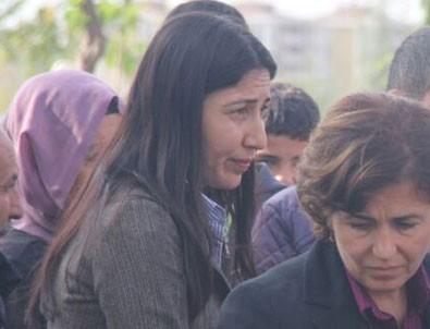 HDP'li Birlik, PKK'lı teröristin cenazesine katıldı
