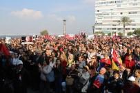 CUMHURİYET MEYDANI - İzmir'de Binler 'Ata'ya Saygı Yürüyüşü'Nde