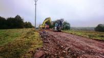 KOZLUCA - İzmit'in Köy Yolları Yenileniyor