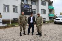 KARAKOL KOMUTANI - Kaymakam Çetin'den Jandarmaya Ziyaret