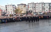 MEMDUH ŞEVKET ESENDAL - Mustafa Kemal Atatürk Çorlu'da Törenle Anıldı