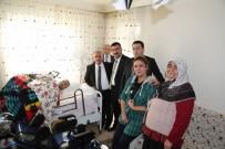 ÖMER KıLıÇ - Niğde Belediye Başkanı Özkan'dan Engelli Vatandaşa Ziyaret