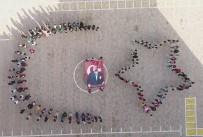 MUSA AYDıN - Öğrencilerden Ata'ya Ay Yıldızlı Saygı Duruşu