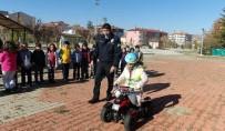 TRAFİK GÜVENLİĞİ - Öğrencilere Trafik Kuralları Anlatıldı