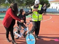 TRAFİK KURALLARI - Özel Çocuklar Bisiklet Sevinci Yaşadı