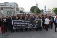 ORHAN SARIBAL - Patlamanın Olduğu Fabrikanın Önünde Protesto