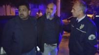 ALKOLLÜ SÜRÜCÜ - Polis Aracına Çarpan Alkollü Sürücü Tutuklandı