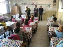 TRAFİK KURALLARI - Polisten Öğrencilere Trafik Eğitimi